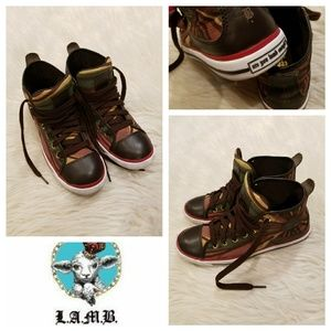 Awesome New L.A.M.B. Hi Top Sneakers